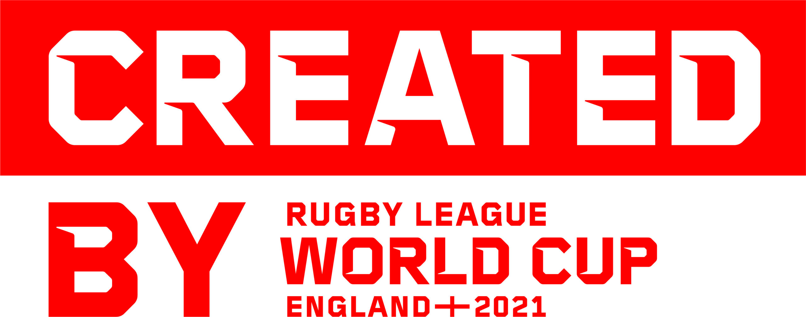 Created by Rugby League World Cup England 2021